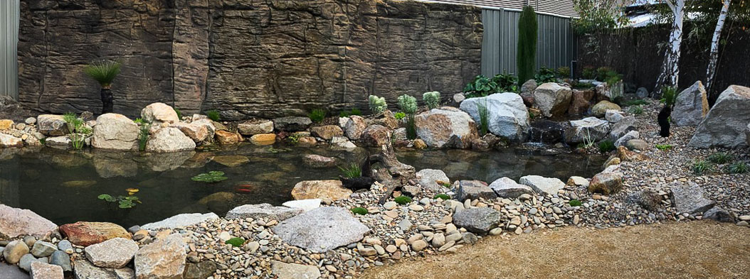 Let us design and create a watergarden for your home